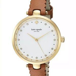 Kate Spade New York KSW1359 Scallop Leather WATCH